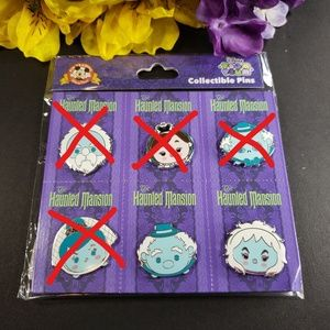 Disney Parks Tsum Tsum Haunted Mansion Booster Pin